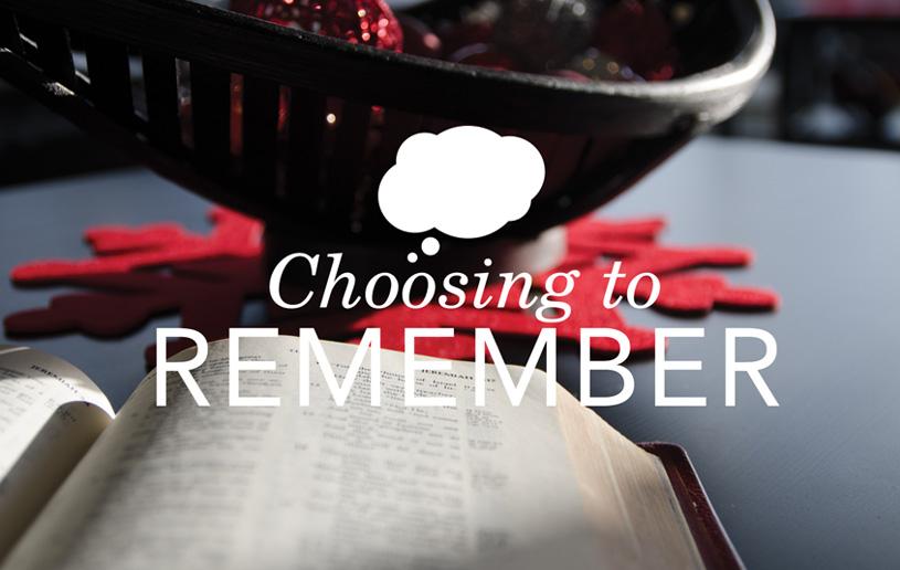 Choosing to Remember