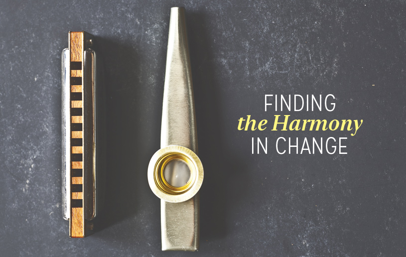 Finding the Harmony in Change