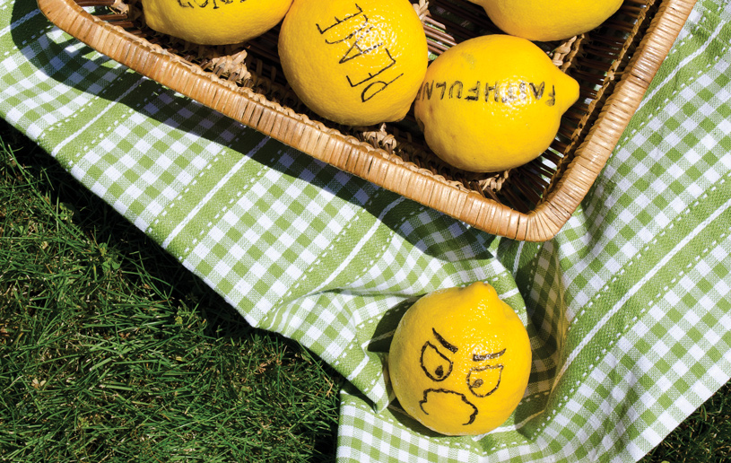 The Fruit of the Spirit is Not Lemons