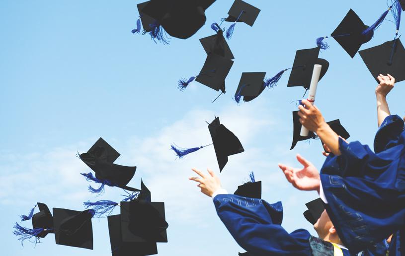 Three Cheers for Graduates