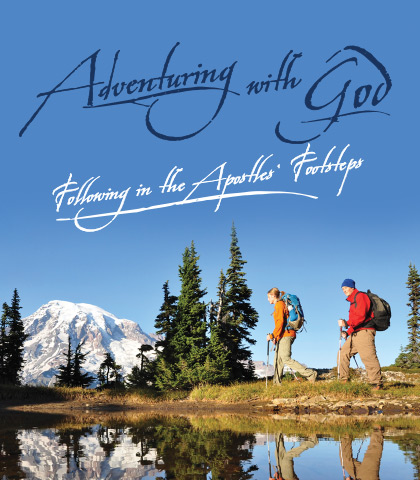 Artwork for Adventuring with God: Following in the Apostles' Footsteps
