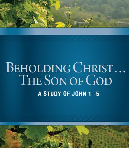 Artwork for Beholding Christ...The Son of God: A Study of John 1-5