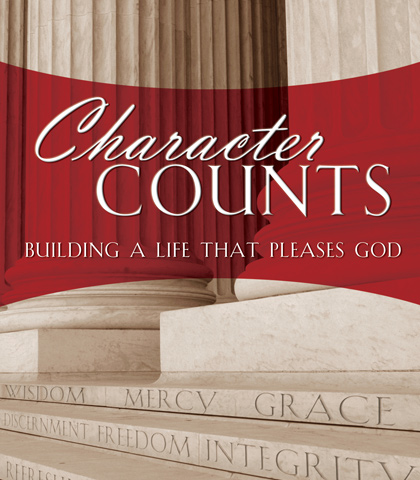 Artwork for Character Counts: Building a Life That Pleases God
