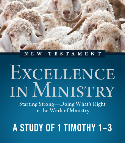 Artwork for Excellence in Ministry: Starting Strong—Doing What's Right in the Work of Ministry