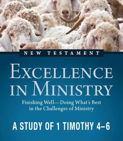 Artwork for Excellence in Ministry: Finishing Well—Doing What's Best in the Challenges of Ministry