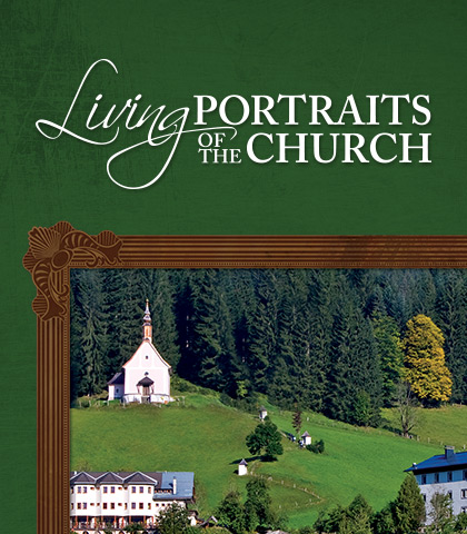 Artwork for Living Portraits of the Church