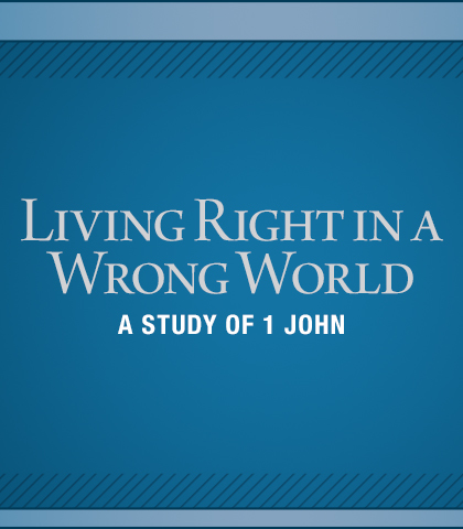 Artwork for Living Right in a Wrong World