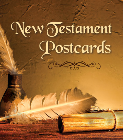 Artwork for New Testament Postcards: A Study of Philemon, 2 John, 3 John, and Jude