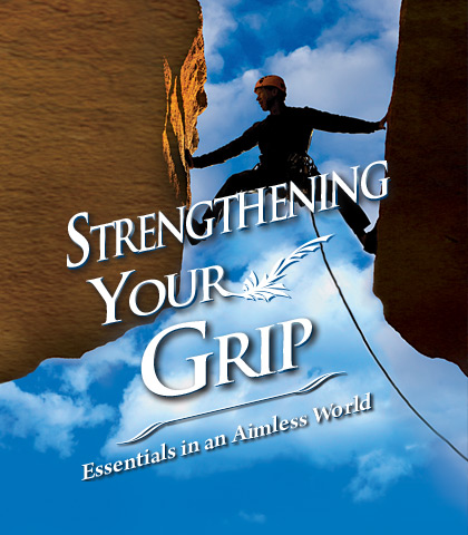 Artwork for Strengthening Your Grip: Essentials in an Aimless World