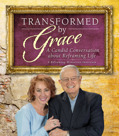 Artwork for Transformed by Grace: A Candid Conversation about Reframing Life
